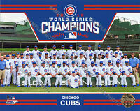 Chicago Cubs 2016 World Series Champions Sit Down 8x10 Team Photo