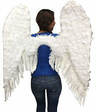 BE WICKED NEW ANGELIC FEATHER WINGS COSPLAY COSTUME PARTY ACCESSORY ADULT UNISEX