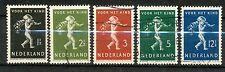 Nederland NVPH 327 - 331 gebruikt (3)