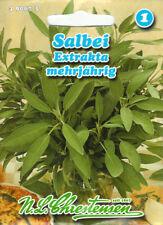 Salbei Extrakta Salvia 70Pf Kräuter Gewürz Samen Saatgut Sämereien Seeds Aussaat