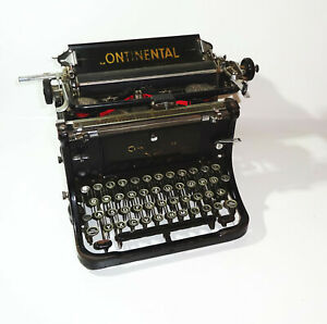 Vecchio Continental Macchina da Scrivere Typewriter Vintage Decorazione