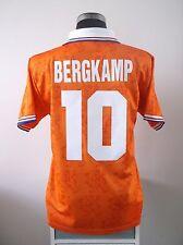 Bergkamp #10 HOLLAND Home Football Shirt Jersey 1994 (L)