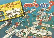 X9557 Majo-Kit pays de Majorette - Pubblicità 1983 - Advertising