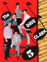 DAVE CLARK FIVE 1965 COAST TO COAST TOUR CONCERT PROGRAM BOOK BOOKLET / VG 2 NMT