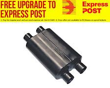 "Flowmaster Super 40 Series Delta Flow Muffler 2-1/2"" Dual Inlet / Dual Outlet"