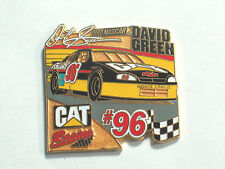 David Green #96 Nascar Cat Racing Pin      Monte Carlo Lapel Pin Badge