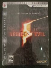 Playstation 3 PS3  Resident Evil 5 Collector's Edition NTSC Work on PAL System