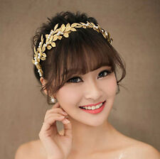 Golden leaves Headband,Gold color leaf Hair Band,lovely hairband,retro style