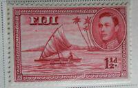 Fiji 1938-40 Stamp 1-1/2d MNH Stamp StampBook1-35