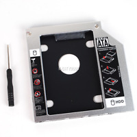 2nd HD HDD SSD Hard Drive Caddy for Dell Latitude E6430 E6320 E6420 E6520 E6530