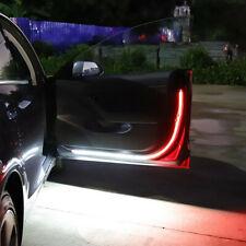 2pcs Car Door Open Warning Lamp Flowing Flashing LED Light Strip Anti-collision