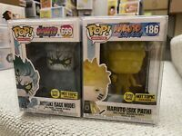 Funko Pop! Naruto (Six Path) & Mitsuki Sage Mode GITD #186 Hot Topic Exclusive