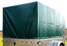 Stema Plane Hochplane grün 1 m hoch für PKW Trailer Anhänger Beplankung Neu OVP