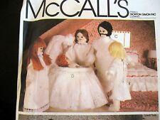 "Vtg 80s cloth doll pattern dollhouse family 5"" 4"" mom & grandpa M7192"