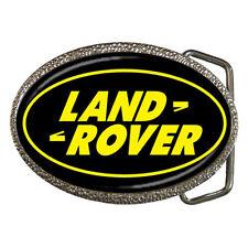New Belt Buckle - Land Rover Emblem Chrome Belt Buckle Rare!