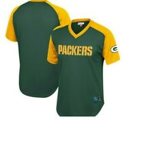 Mitchell & Ness Green Bay Packers Football Jersey New Mens Sizes $90