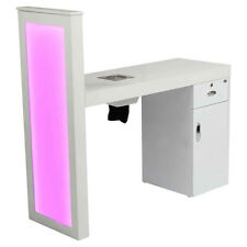 MANICURE STATION WITH BUILT-IN DUST COLLECTOR NAIL TABLE WITH EXTRACTING VENT