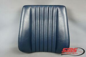 86-95 Mercedes W124 300E 300TD E300 Front Right Upper Seat Cushion Blue MINT OEM