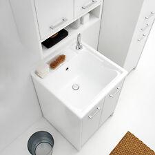Lavapanni Domestica Colavene tela bianco 60X60X86h due ante con tavola lavapanni