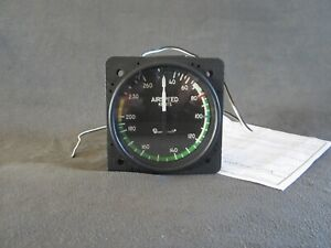 Beech Baron AID Lighted Airspeed Indicator 11B306-5 P/N 58-330010-5 With 8130