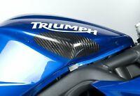 Triumph Street Triple 675 2007-2012 R&G Racing Carbon Fibre Tank Sliders