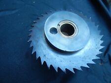 Vintagel spindle moulder block  saw blade