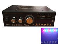HY-806 Car Bluetooth Amplifier Audio USB TF FM DVD MP3 AUX Player HiFi Stereo
