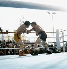 Old Boxing Photo Deukkoo Kim Lands A Punch Against Ray Mancini