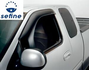 AVS OffRoad 2pc Sidewind Protectors For 80-96 Ford Bronco&F-150 Standard 95068