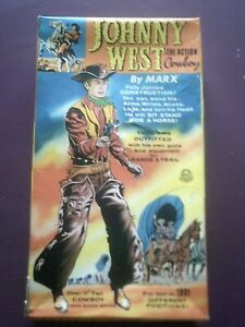 Marx Johnny West original box