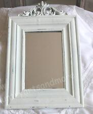 Spiegel,Wandspiegel * ORNAMENT * Antik - Weiß, Romantik, Brocante, Shabby