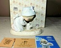 Precious Moments Friendship Grows When You Plant A Seed Figure w/ Box 524271