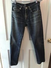 APC A.P.C. Mens New Standard 32 X 32  Blue Denim Jeans Button Fly