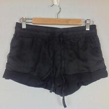 Guess Shorts Womens Medium Black Drawstring Pockets