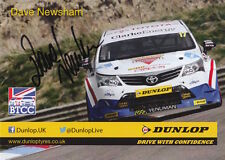 Dave Newsham Hand Signed Touring Cars Promo Card.