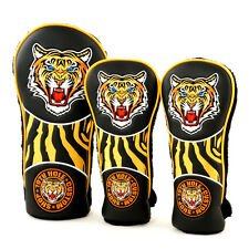 Tiger Classic Retro Style Driver Fairway Woods Headcovers, 19th Hole Custom Shop