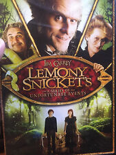 Lemony Snickets A Series of Unfortunate Events (DVD)