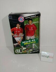 "NEW Kick-O-Mania Michael Ballack FC Bayern Germany Bundesliga doll / figure 12"""