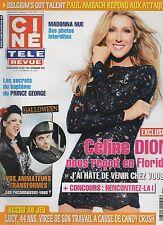 CINE REVUE (belge) 2013 N°44 celine dion madonna natalie portman