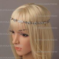 Gatsby 1920's Flapper Rhinostone Showgirl Women Costume Hair Head Band Headband