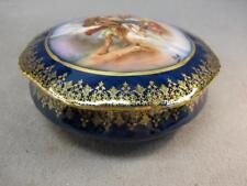 Antique French Porcelain Box.