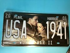 USA Vintage Metal Car Decorative License Plate Home Decor United States sign