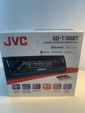 (MA3) JVC KD-T700BT Bluetooth MP3 CD Player NIB NEW