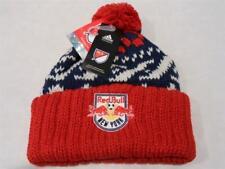 Too Cute! New Licensed New York Red Bulls Adidas MLS POM Beanie Hat B41