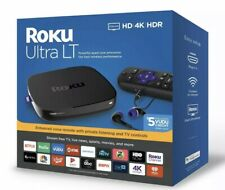 Roku Ultra LT (4662RW) HD 4K HDR Streaming Media Player 2019 New Factory Sealed