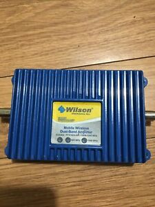 Wilson Mobile Wireless Dual Band Signal Booster - Blue (271201)