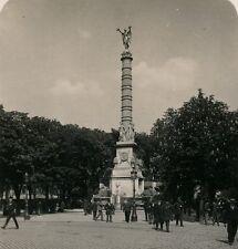 PARIS c. 1900 - Stéréo Place du Châtelet - 38