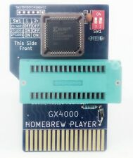 GX4000 Homebrew Player ZIF - eprom to cartridge adapter