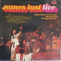 DOUBLE ALBUM 33 TOURS  JAMES LAST LIVE