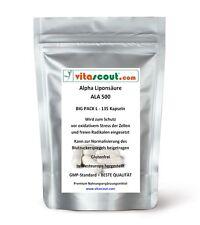 Alpha Liponsäure ALA - 135 Kapseln á 250mg SB*: Antioxidantien - Fettverbrennung